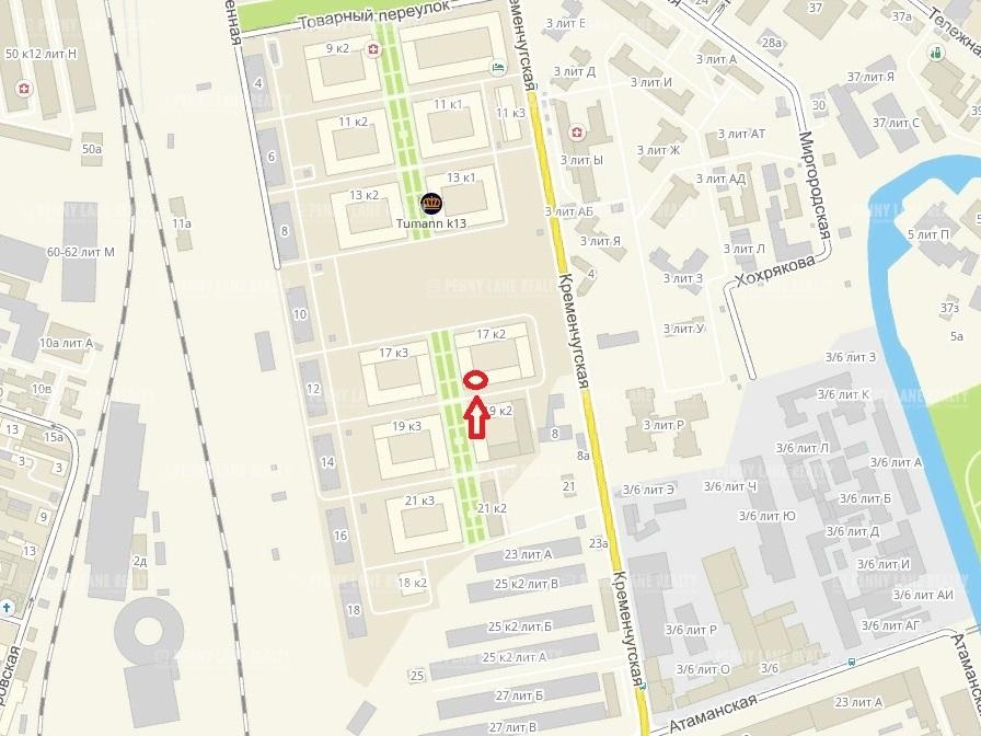 Продажа помещения 120 кв.м. Центральный ул. Кременчугская, 17 - фотография №3