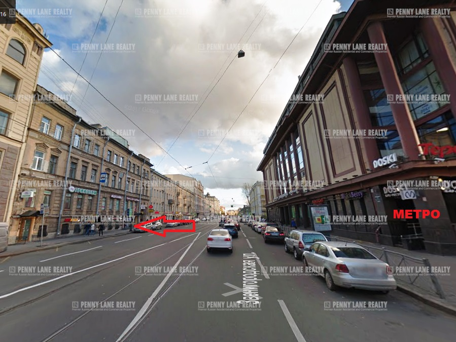 Аренда помещения 145 кв.м. Центральный ул. Звенигородская, 4 - фотография №2