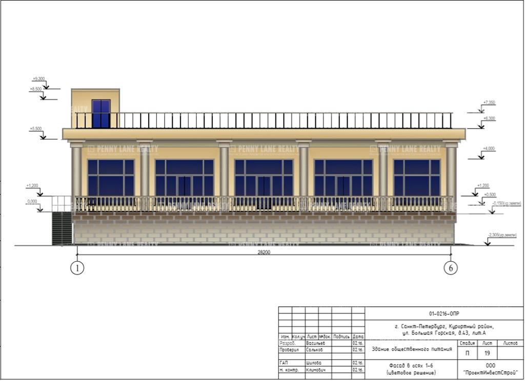 Аренда здания 600 кв.м. Курортный ул. ул. Большая Горская, 43 лит А. - фотография №4