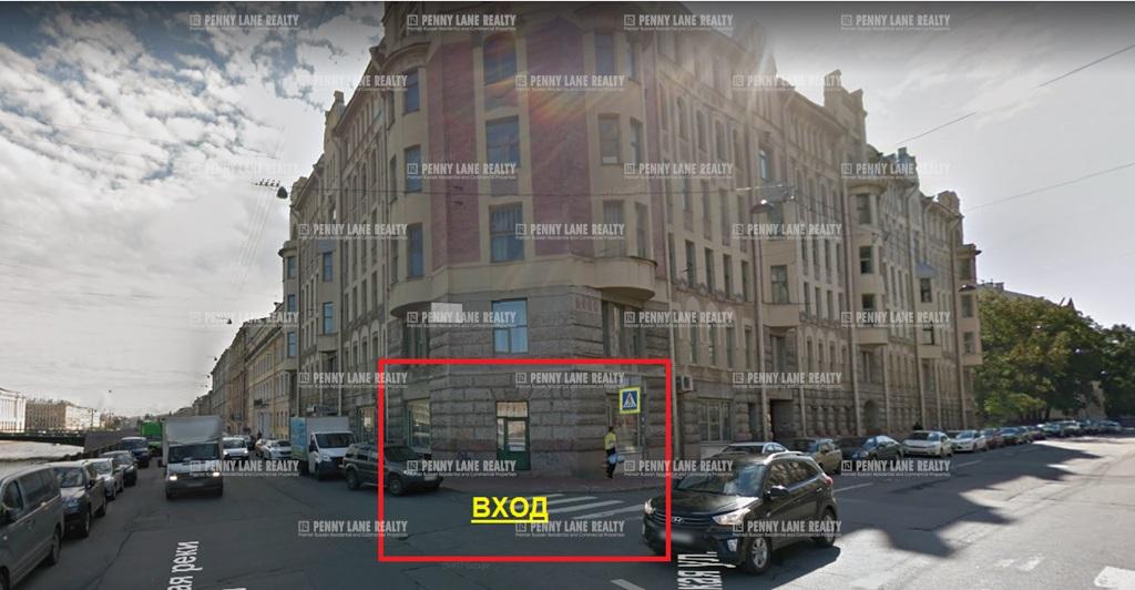 Аренда помещения 106 кв.м. Центральный ул. наб.Фонтанки, 86 - на spret.realtor.ru - фотография №1