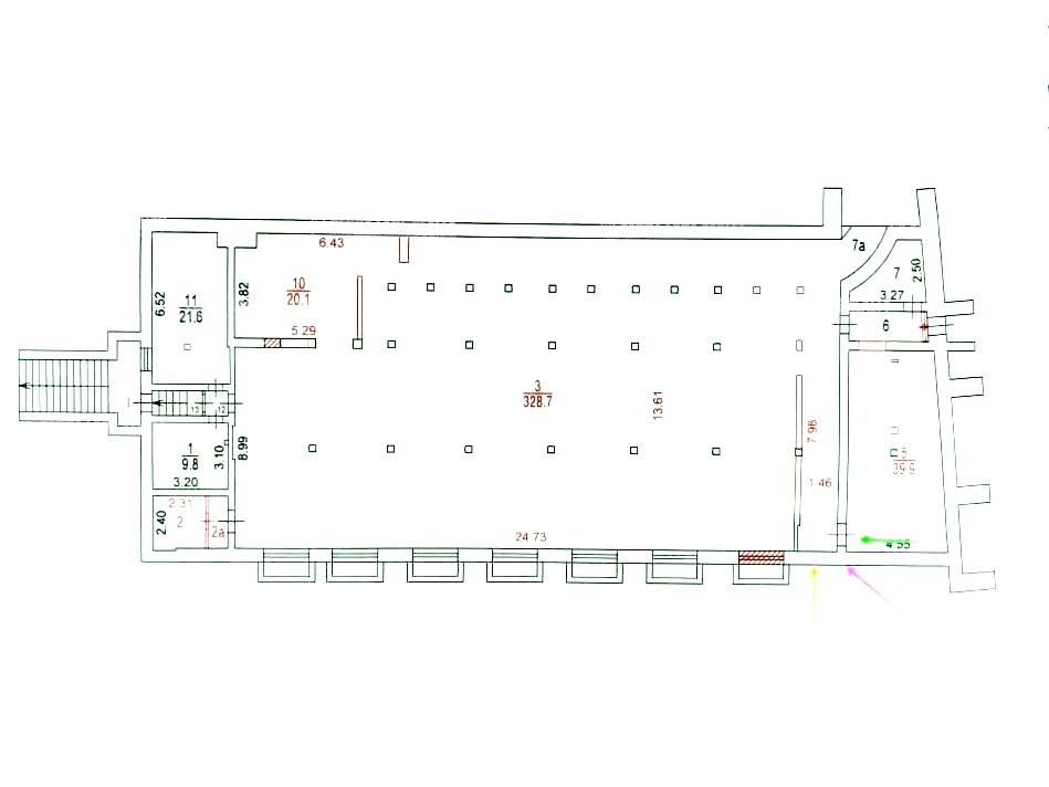 Продажа помещения 448.70 кв.м. ЦАО ул. Тверская-Ямская 1-я, 36к2 - фотография №4