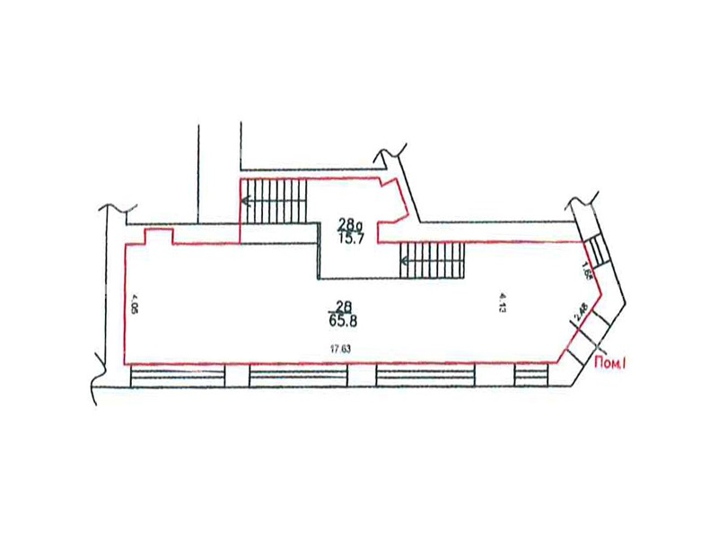 Продажа помещения 269 кв.м. ЦАО ул. Арбат, 6/2 - фотография №4