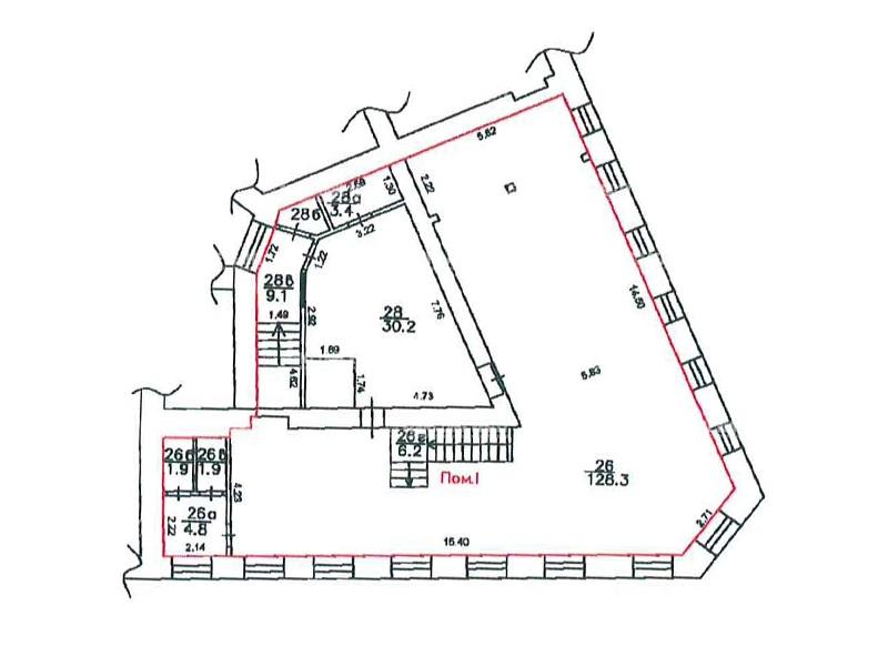 Продажа помещения 269 кв.м. ЦАО ул. Арбат, 6/2 - фотография №5
