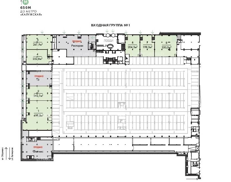 Продажа помещения 732.80 кв.м. ЮЗАО ул. Бутлерова, 17 - фотография №4