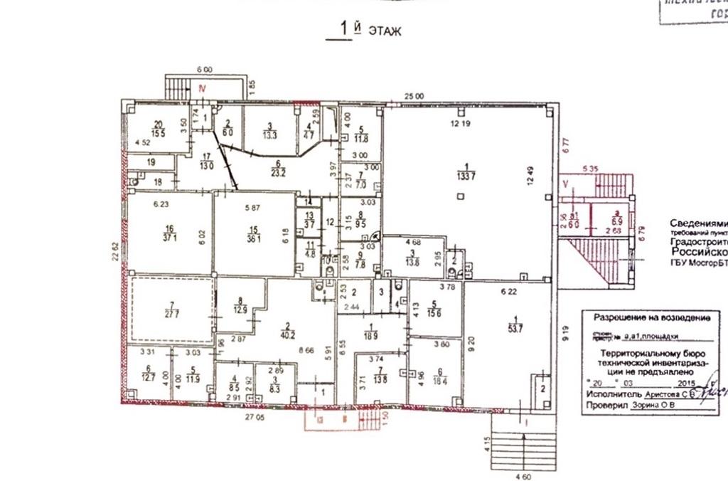 Продажа помещения 1249 кв.м. ЮАО ул. Мусы Джалиля, 4к6 - фотография №4