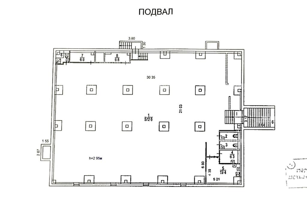 Продажа помещения 1249 кв.м. ЮАО ул. Мусы Джалиля, 4к6 - фотография №5