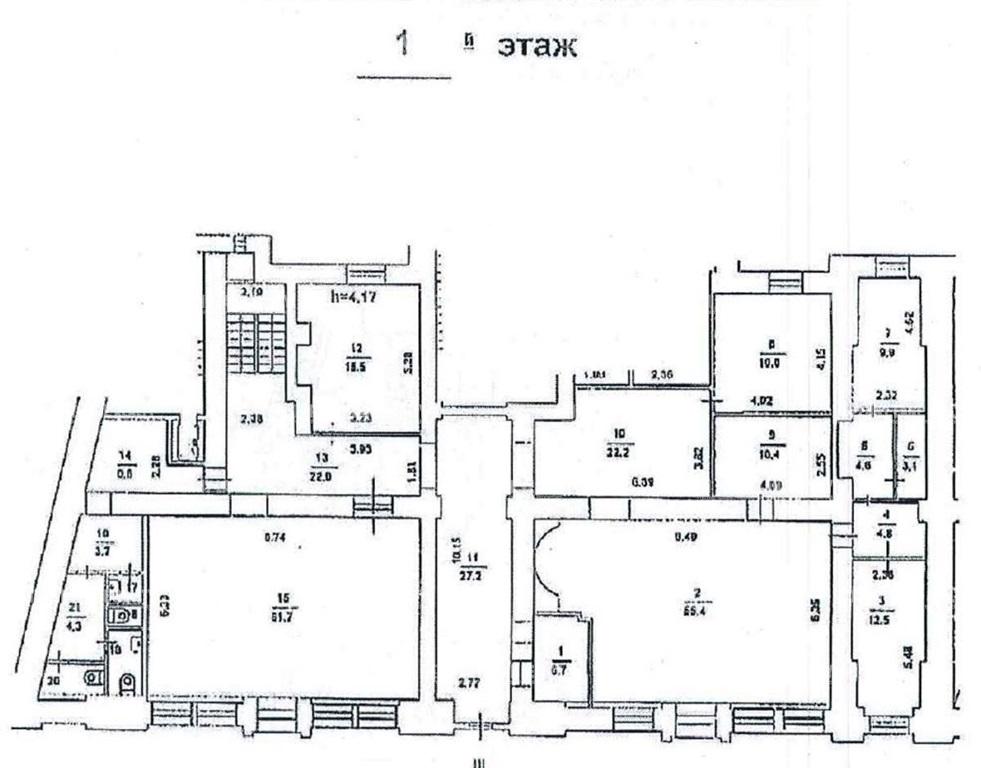 Аренда помещения 300 кв.м. ЦАО ул. Садовая-Спасская, 18с1 - фотография №3