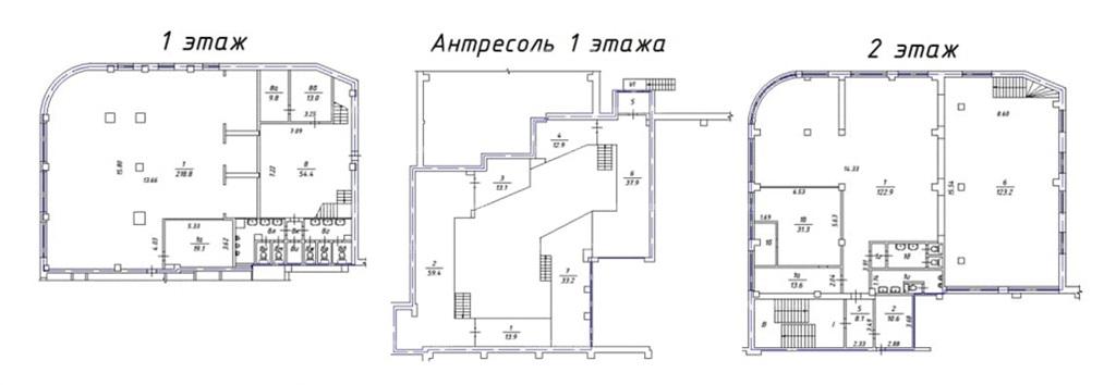 Аренда помещения 1320 кв.м. ЦАО б-р Цветной, 30c1 - фотография №3