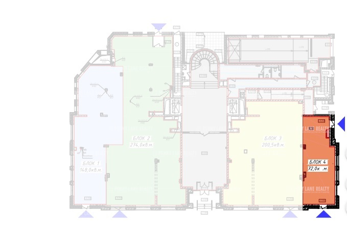 Аренда помещения 72 кв.м. ЦАО ул. Малая Бронная, 15Б - фотография №5