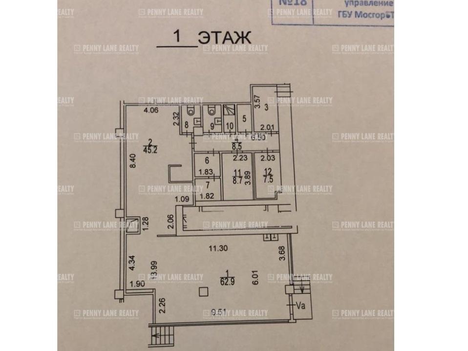 Аренда помещения 157 кв.м. ЦАО ул. Таганская, 29к1 - фотография №6