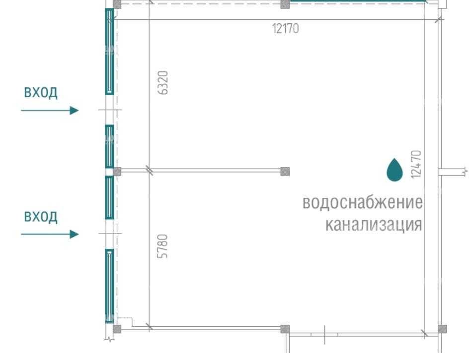 Продажа помещения 150 кв.м. ВАО ул. снайперская, 8а - фотография №6