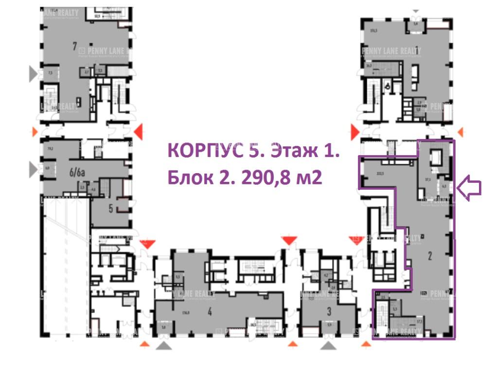 Аренда помещения 744.20 кв.м. ЦАО ул. Мантулинская, 7 - фотография №7