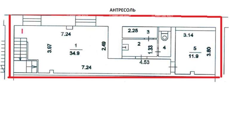Аренда помещения 341 кв.м. ЮЗАО пр-кт Ленинский, 61/1 - фотография №4