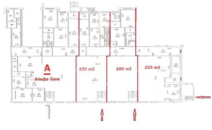 Аренда помещения 200 кв.м. САО ул. Менжинского, 23к1 - фотография №3
