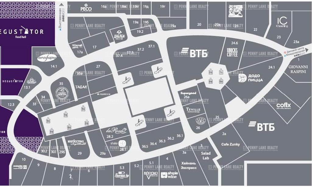 Продажа помещения 107.81 кв.м. ЦАО наб. Пресненская, 12 - фотография №8