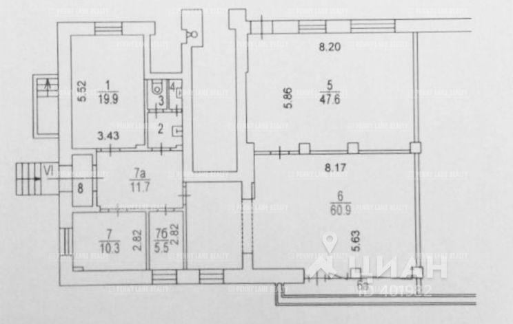 Закрытая продажа помещения 173 кв.м  ВАО