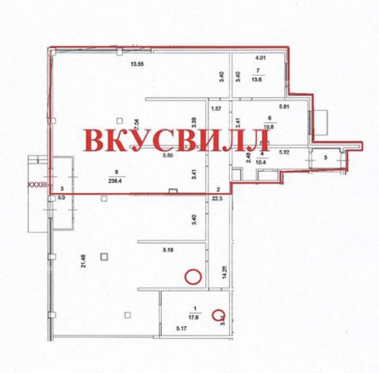 Продажа помещения 334 кв.м. ЦАО ш. Пятницкое, 21 - фотография №4