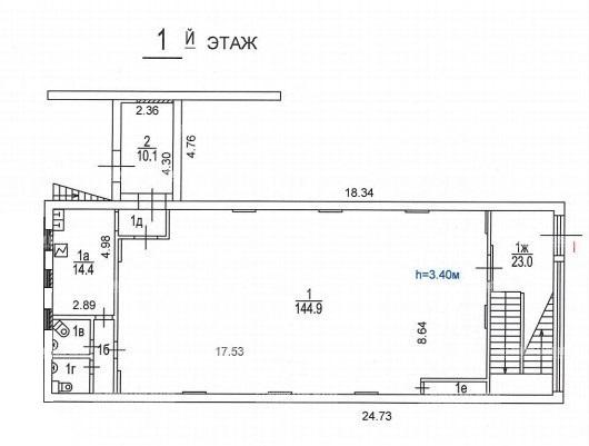 Продажа здания 423.80 кв.м. ЮАО ул. Коломенская, 7с2 - фотография №3