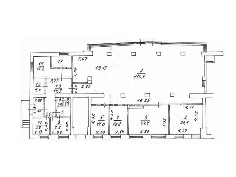 Продажа помещения 273.50 кв.м. ЗАО ш. Аминьевское, 14к1 - фотография №6