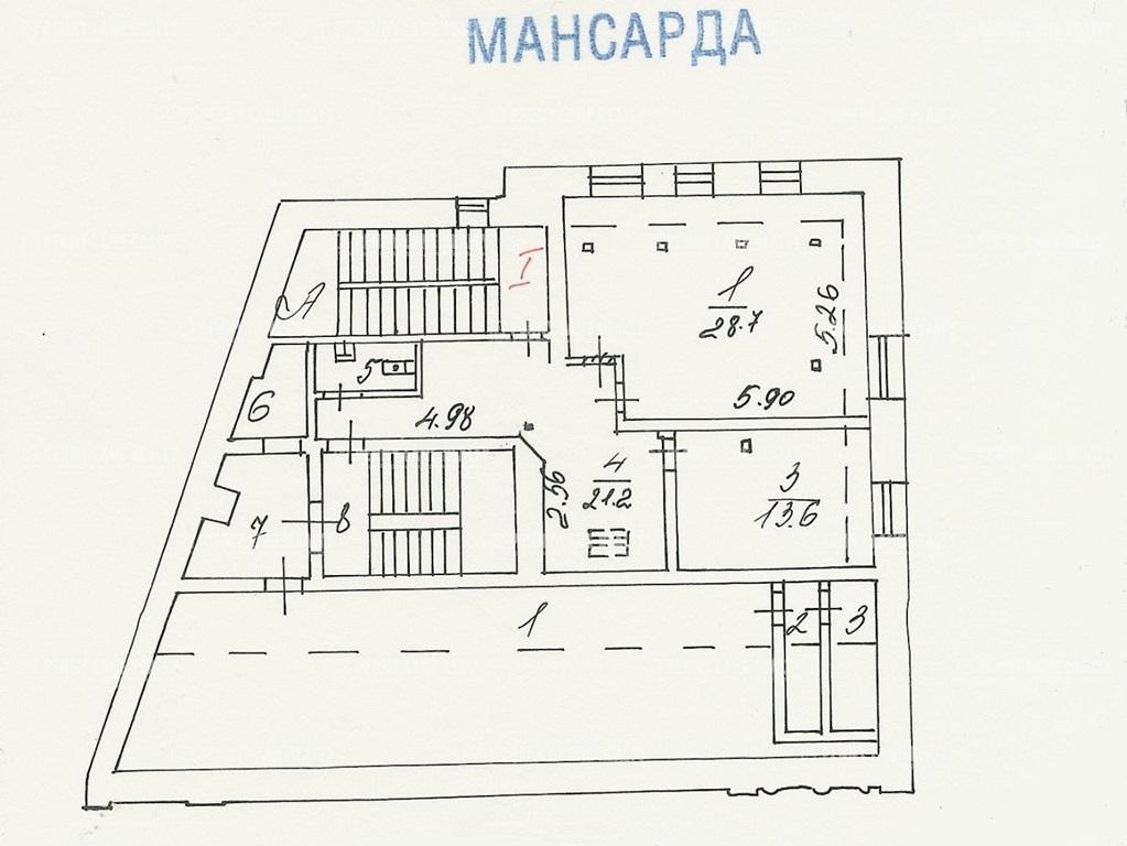 Продажа здания 591.30 кв.м. ЦАО ул. Большая Полянка, 61с1 - фотография №9