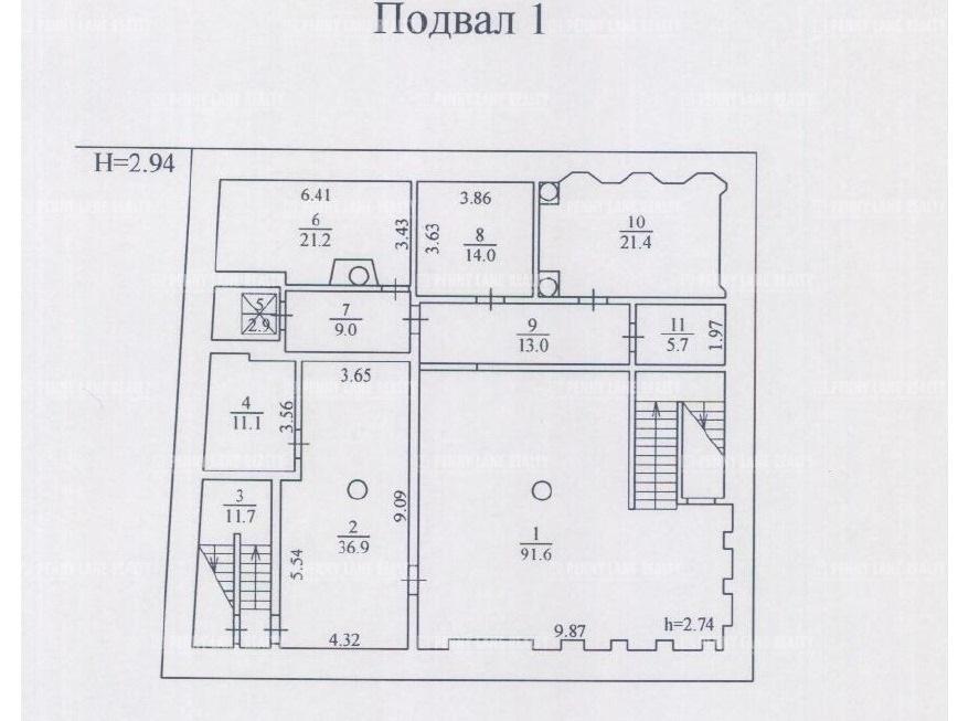 Продажа здания 2207.90 кв.м. ЦАО ул. Молчановка Б., 34стр2 - фотография №5