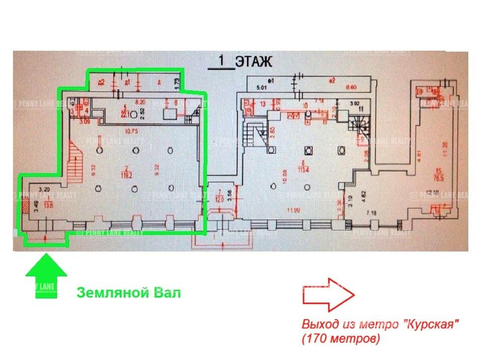 Аренда помещения 229.10 кв.м. ЦАО ул. Земляной Вал, 25 - на retail.realtor.ru - фотография №6