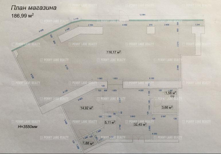 Аренда помещения 187 кв.м. ЦАО пр-кт Комсомольский, 19 - фотография №4