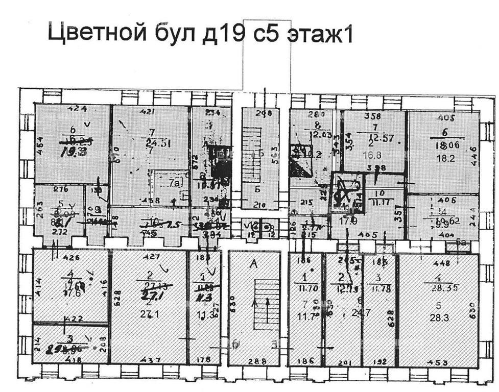 Продажа помещения 336 кв.м. ЦАО б-р Цветной, 19с5 - фотография №9