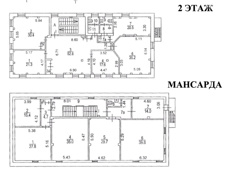 Продажа здания 741 кв.м. ЦАО ул. Бакунинская, 80 - фотография №5