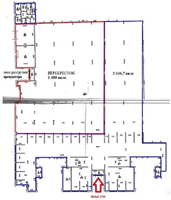Продажа помещения 2050 кв.м. САО ул. Дубнинская, 40А - фотография №7