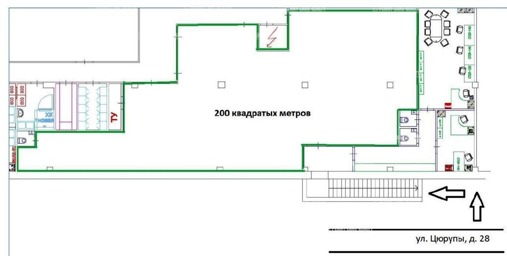 "аренда - ""ул. Цюрупы, 28"" - на retail.realtor.ru"