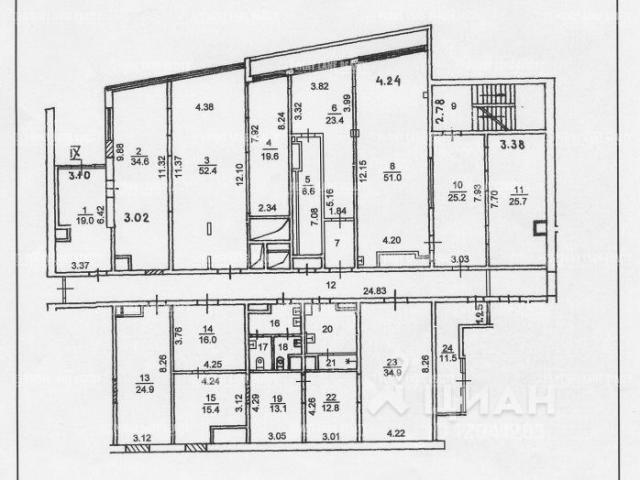 Продажа помещения 468 кв.м. ЗАО ул. Улофа Пальме, 1 - фотография №4