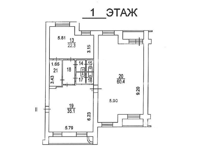 Продажа помещения 180 кв.м. ул. рублевский, 40к3 - на retail.realtor.ru - фотография №2
