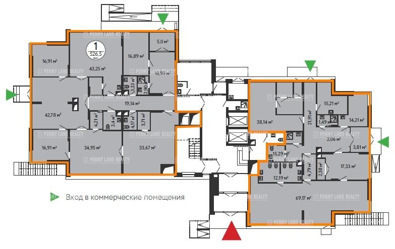 Продажа помещения 526.50 кв.м. ВАО ул. Зеленодольская, вл. 41 - фотография №4