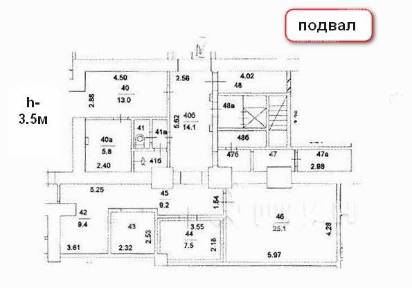 Продажа помещения 310.50 кв.м. ЦАО ул. Красносельская Нижн., 45/17 - фотография №3