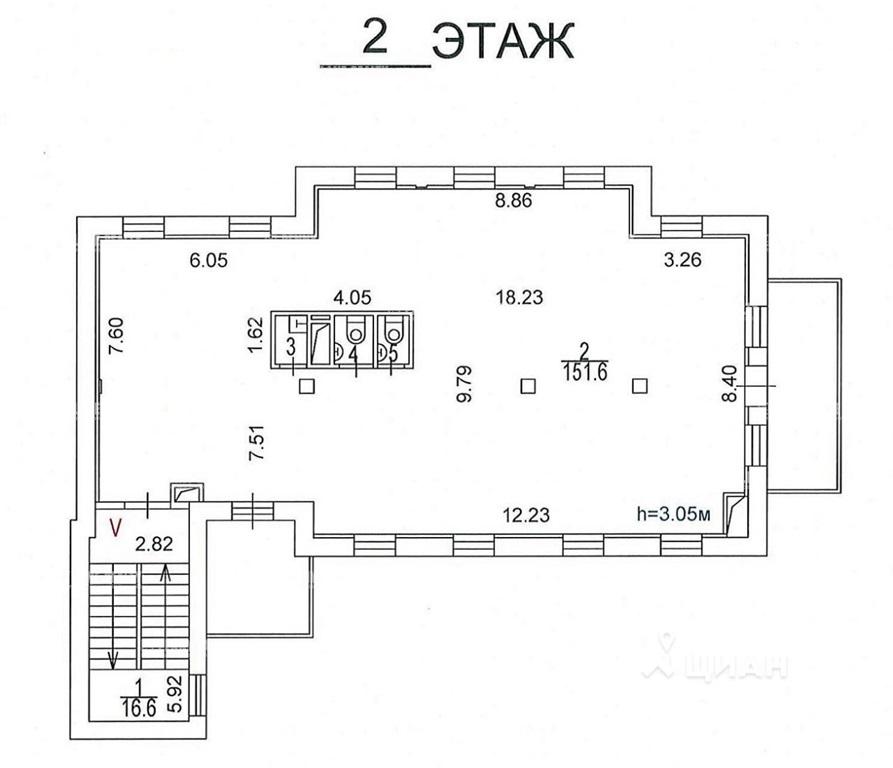 Аренда здания 615 кв.м. ЦАО наб. Космодамианская, 26/55с6 - фотография №4