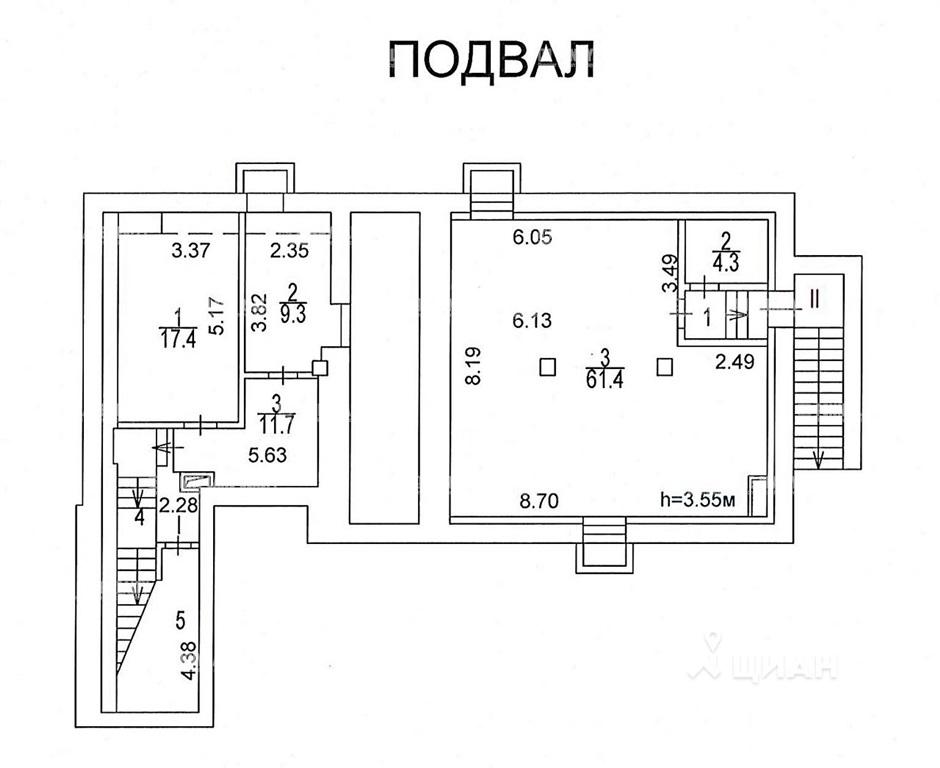 Аренда здания 615 кв.м. ЦАО наб. Космодамианская, 26/55с6 - фотография №5