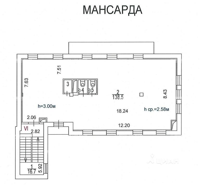 Аренда здания 615 кв.м. ЦАО наб. Космодамианская, 26/55с6 - фотография №6