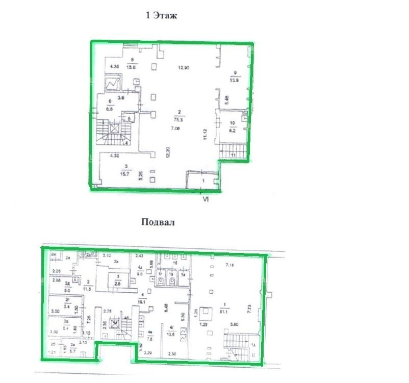 Аренда помещения 330 кв.м. ЦАО пр-кт Комсомольский, 15с2 - фотография №5
