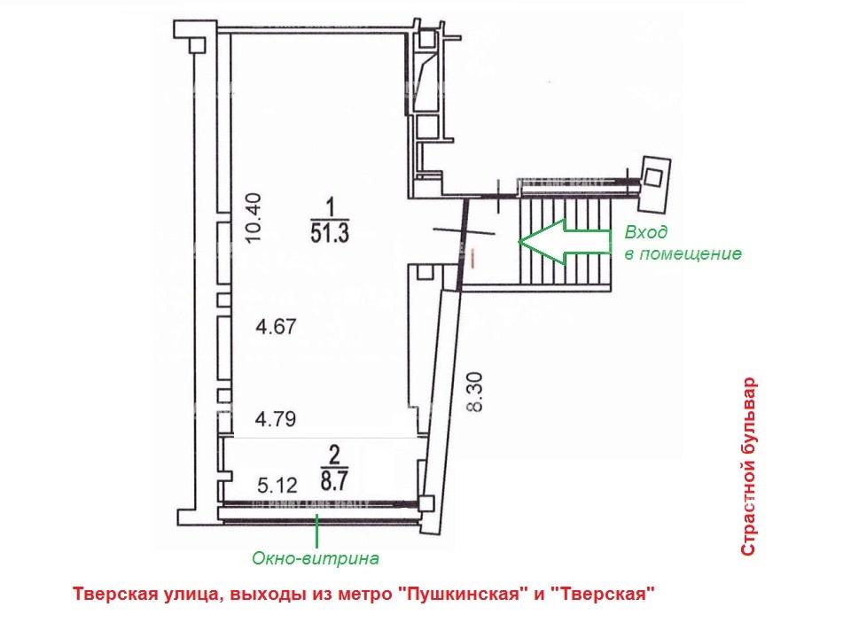 "продажа - ""ул. Тверская, 18к1"" - на retail.realtor.ru"