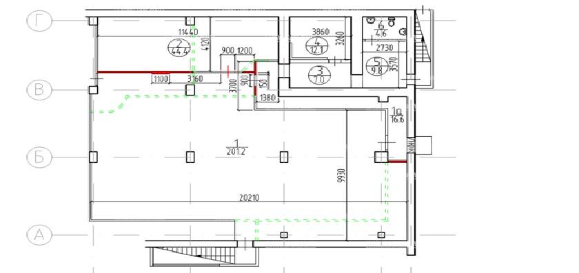 Продажа помещения 733 кв.м. ЮЗАО ул. Миклухо-Маклая, 55 - фотография №5