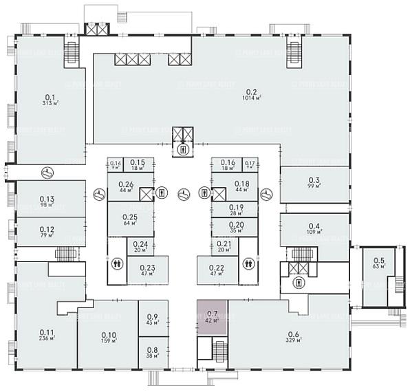 Продажа здания 40000 кв.м. ЗАО ул. проспект Вернадского, 37к2 - фотография №9