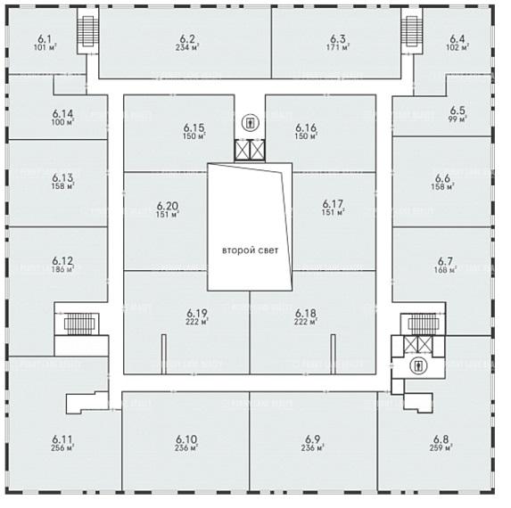 Продажа здания 40000 кв.м. ЗАО ул. проспект Вернадского, 37к2 - фотография №15