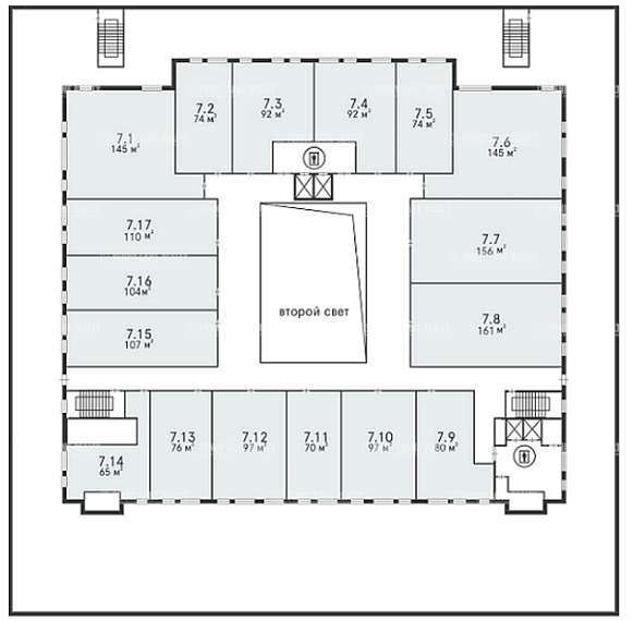 Продажа здания 40000 кв.м. ЗАО ул. проспект Вернадского, 37к2 - фотография №16
