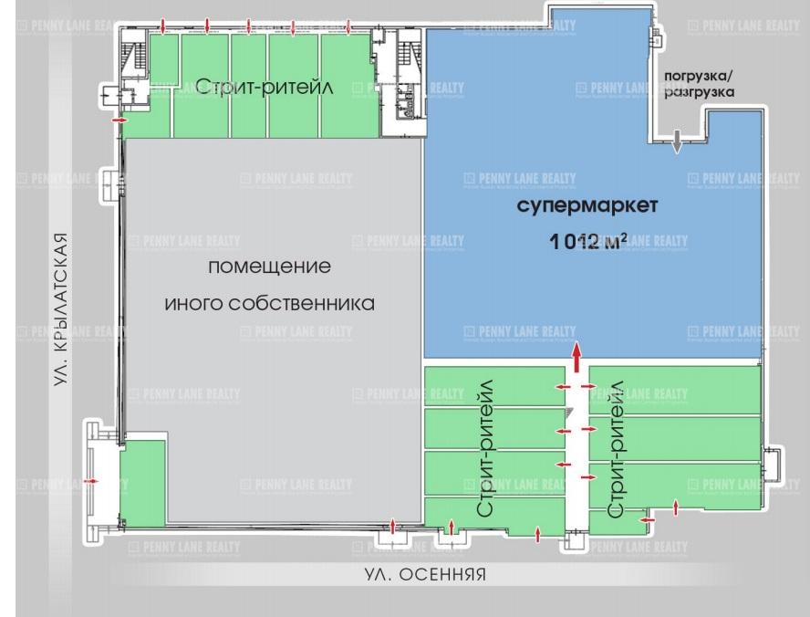 Продажа помещения 1290 кв.м. ЗАО ул. Крылатская, 33 к 3 - фотография №4