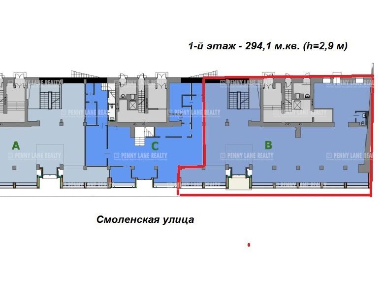 """аренда - """"пл. Смоленская, 6"""" - на retail.realtor.ru"""