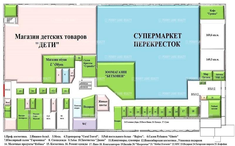 """продажа - """"ул. Тимирязевская, 2/3"""" - на retail.realtor.ru"""
