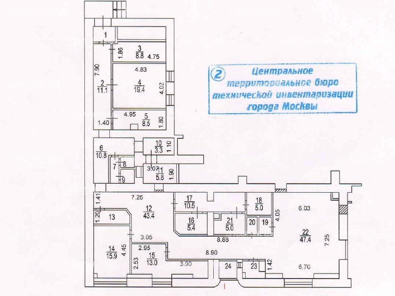 """аренда - """"ул. Тверская-Ямская 1-я, 15"""" - на retail.realtor.ru"""
