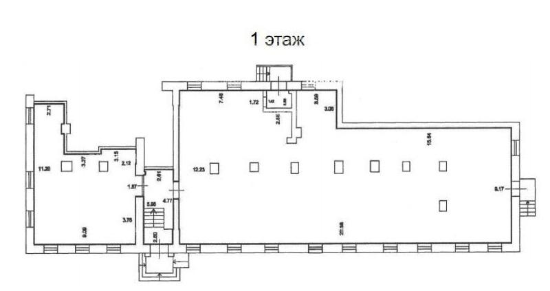 Продажа помещения 400.10 кв.м. ЗАО ул. Молодогвардейская, 45 - фотография №2