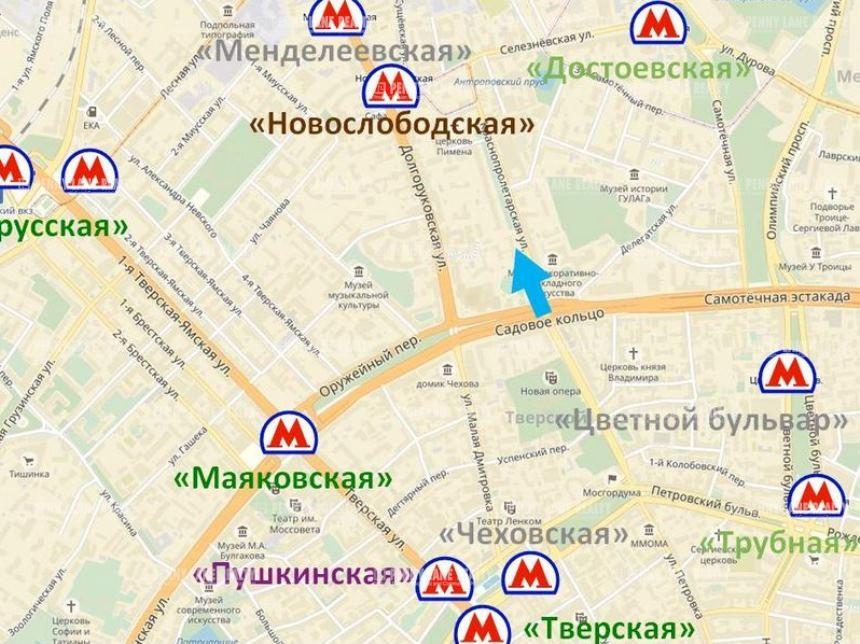 Закрытая аренда помещения 236 кв.м  ЦАО - на retail.realtor.ru